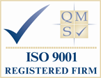 Certificate of Quality Assurance - QMS ISO 9001