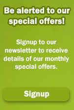 Sign up to our Newsletter to receive product news and latest offers