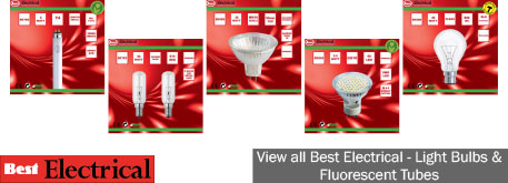 Our range of light bulbs and fluorescent tubes comprises more than 600 lines, in eye-catching boxed & blistered packaging, with case quantities also available.